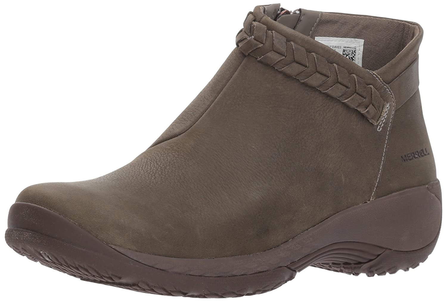 Merrell Women's Encore Braided Bluff Q2 Fashion Boot B078NJC22M 6.5 B(M) US|Olive
