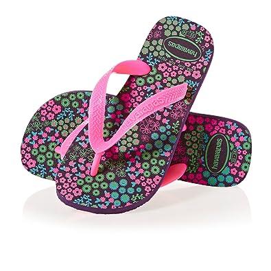 8781ec7f2 Havaianas Girls  Kids Flores Flip Flops  Amazon.co.uk  Shoes   Bags