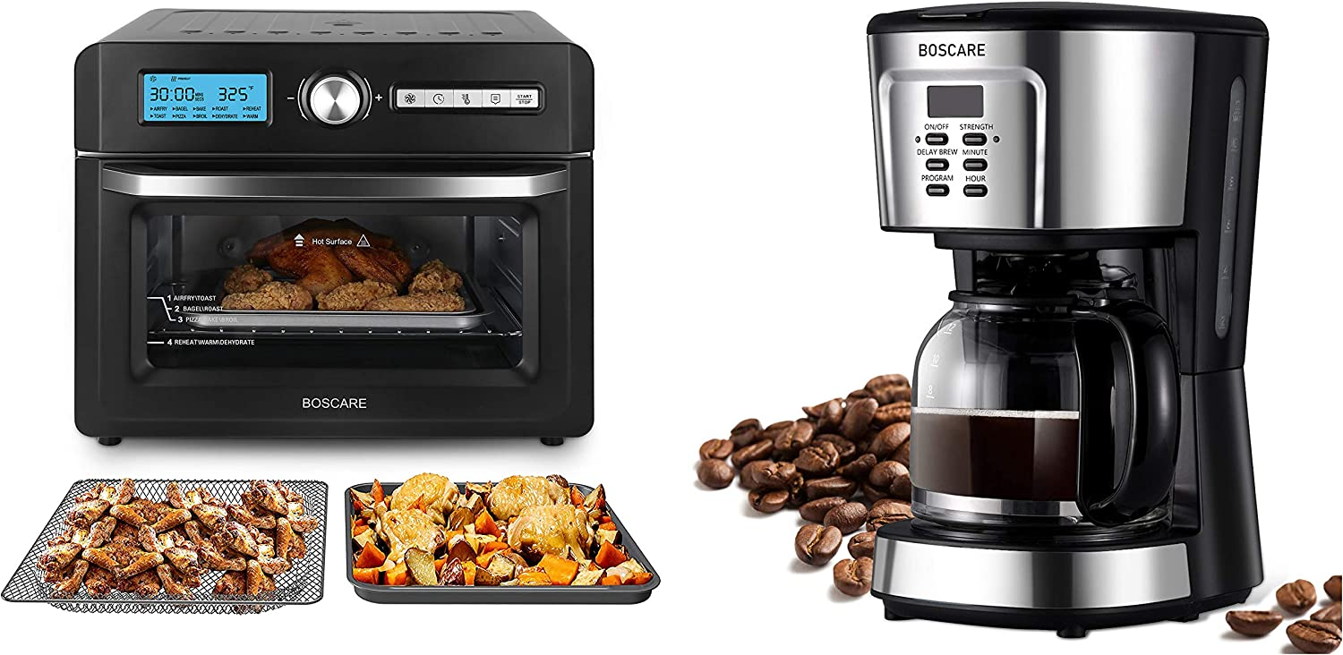 air fryer toaster oven+ coffee maker