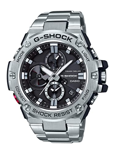 Inoxidable Shock Reloj G Casio Acero 0XZ8OPknNw