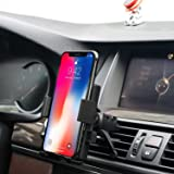 Car Mount,BestHot Universal Air Vent Car Phone Mount Holder Cradle for iPhone X/8/7 Plus 7/6s Plus/6s/6, Samsung Galaxy S8/S7/S6 Note 5/4,More Smartphones&GPS