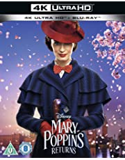 Mary Poppins Returns 4K UHD (Includes Sing-Along Version) [2018] [Region Free]