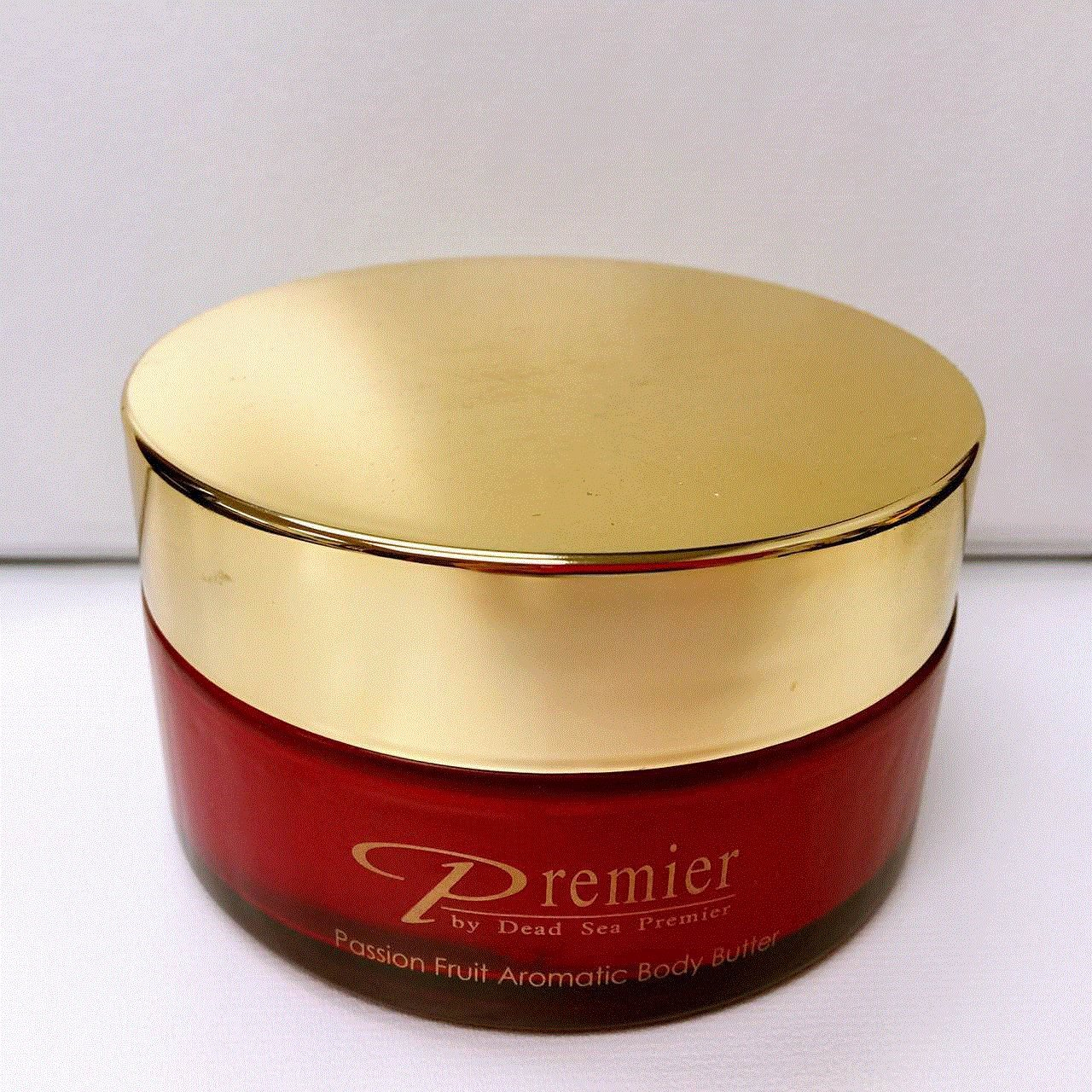 Premier Dead Sea Body Butter, Red, Passion Fruit, 5.95-Fluid Ounce, 175 Ml