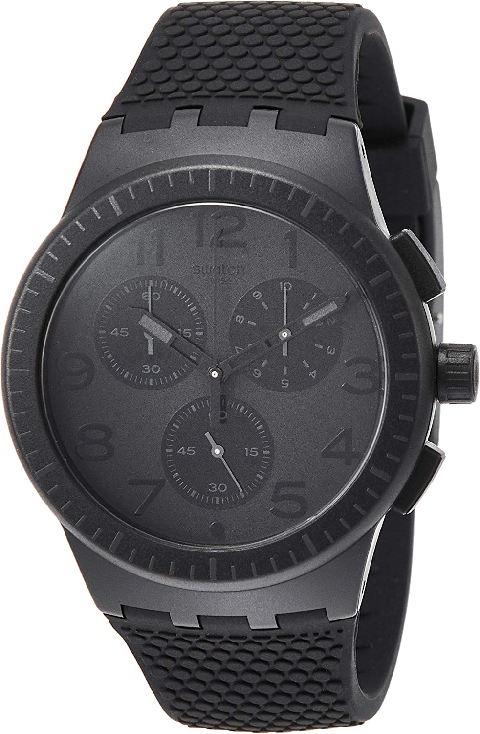 Swatch Men's Chronograph Quartz Watch with Silicone Strap SUSB104 812dUY--OcLUL1500_