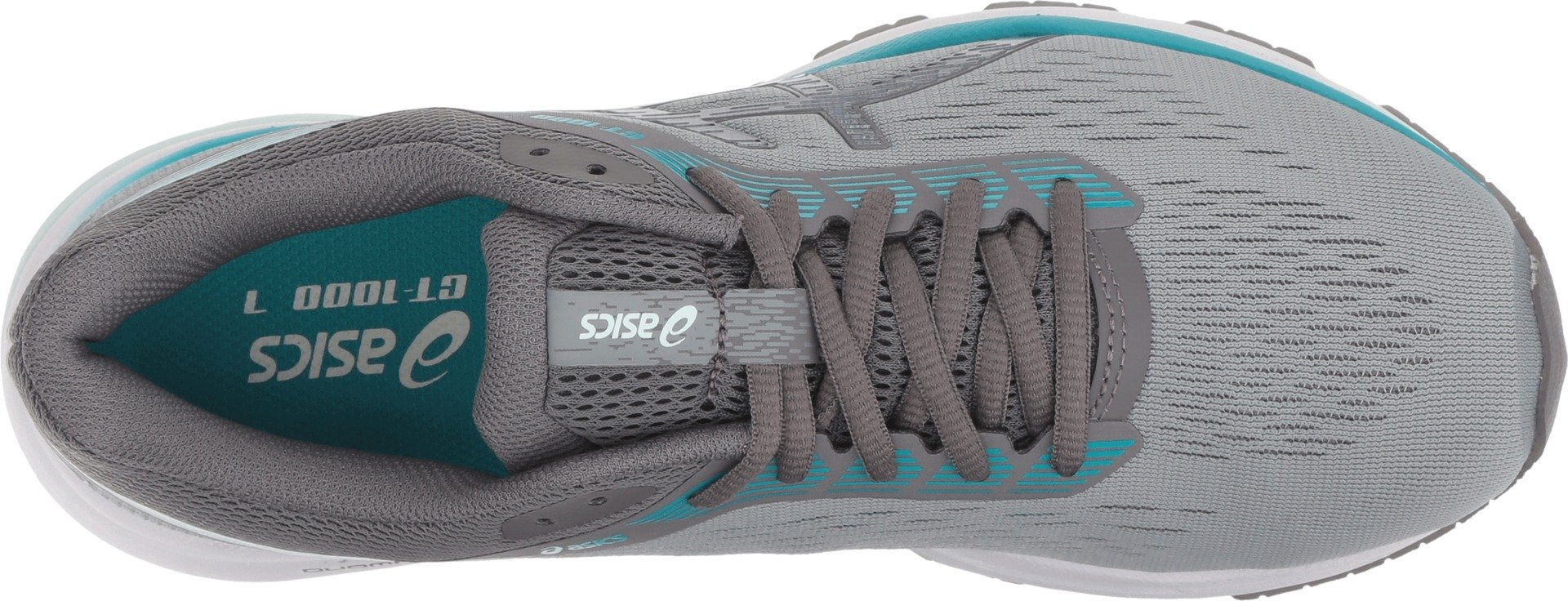 ASICS Women's GT-1000 7 Stone Grey/Carbon 5 B US by ASICS (Image #2)