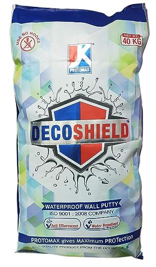 Decoshield Waterproof Wall Putty 40kg Amazon In Home Improvement