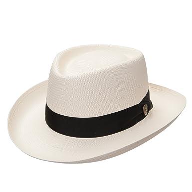 Dobbs Basino - Panama Straw Gambler Hat at Amazon Men s Clothing store  c96cab80d27