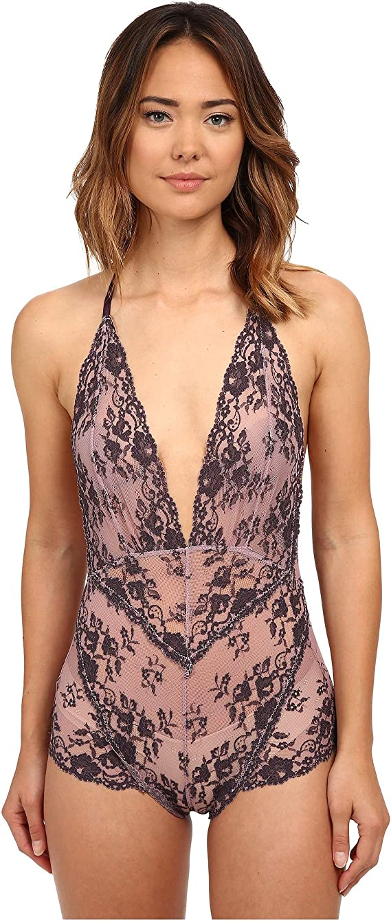 NWT Free People /'Too Cute to Handle/' Bodysuit Retail $68