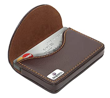 Riatech brown business card holder amazon bags wallets luggage riatech brown business card holder reheart Images