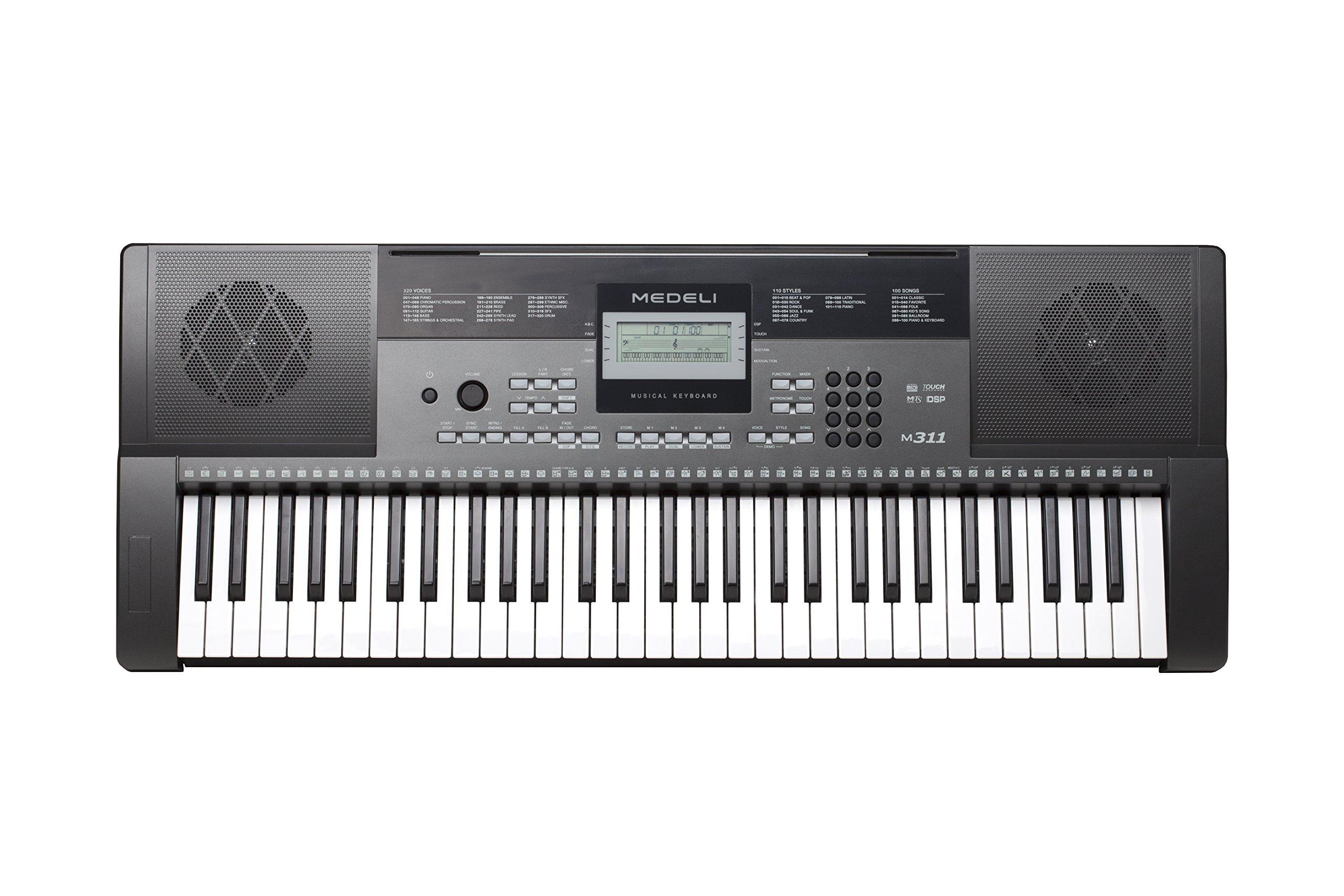 Medeli M311 Electronic Keyboard by Medeli (Image #2)
