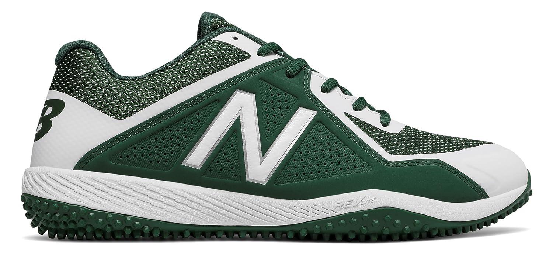 (ニューバランス) New Balance 靴シューズ メンズ野球 Turf 4040v4 Team Dark Green with Black ティー ダーク グリーン ブラック US 12 (30cm) B074YWG1DV