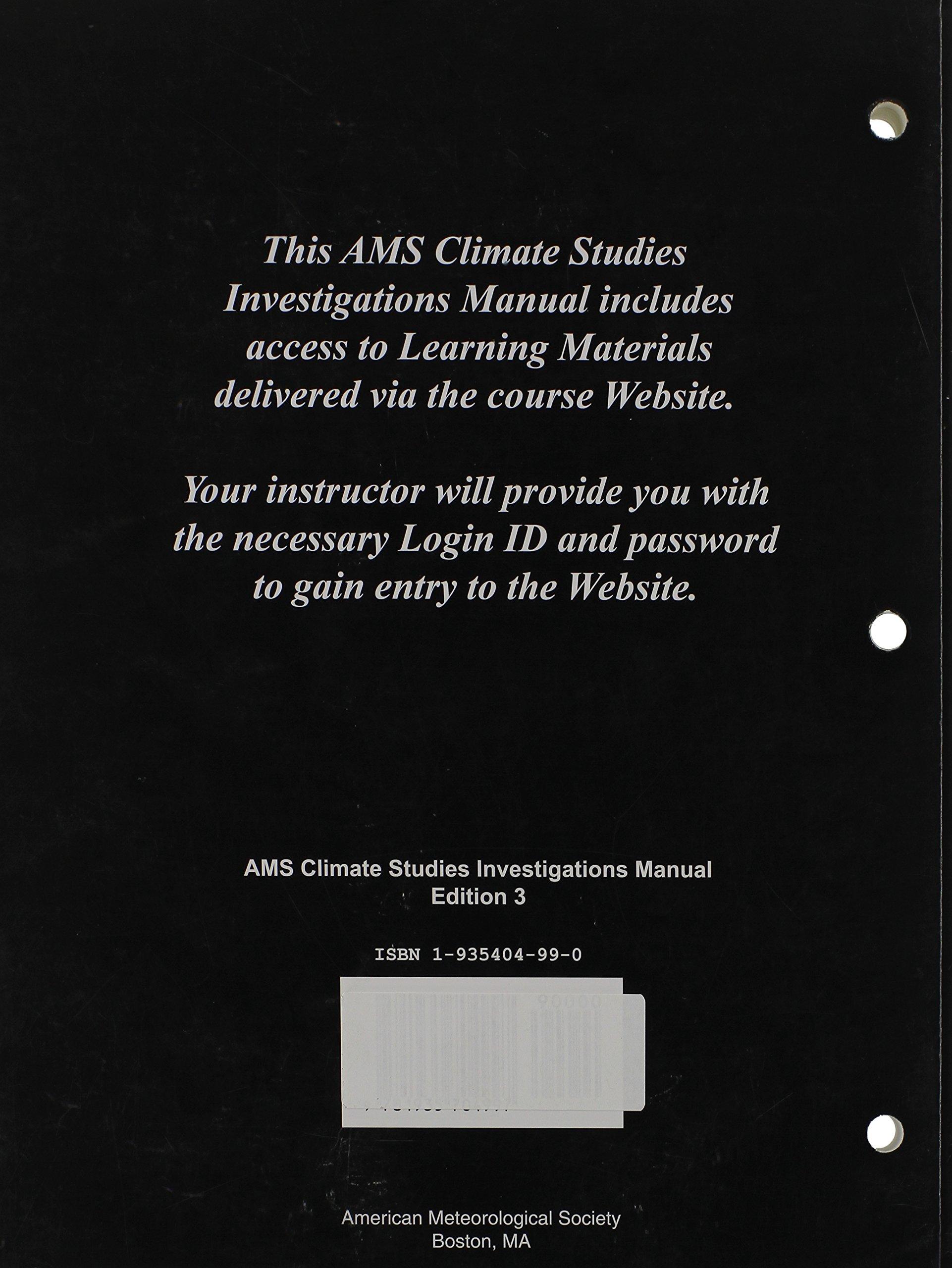 Investigations manual weather studies american meteorological investigations manual weather studies american meteorological society 9781935704935 amazon books fandeluxe Images