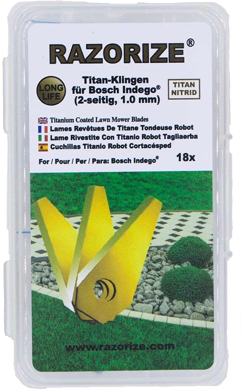 RAZORIZE®. Cuchillas de repuesto de titanio (TiN) para robots ...