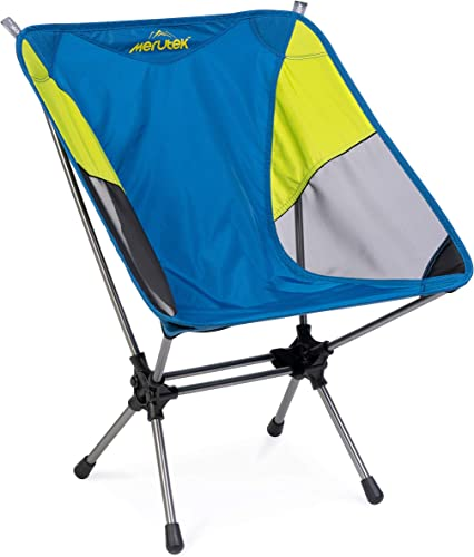 iClimb Ultralight Low Beach Concert Camping Folding Chair with Handle and Shoulder Strap