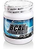 IronMaxx BCAA's + Glutamin 1200 – Pre Workout Booster für die extra Portion Power im Krafttraining – 1 x 260 Kapseln