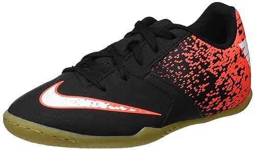 Nike Bombax IC, Zapatillas de fútbol Sala Unisex niños, Negro (Black/White-Total Crimson), 38 EU: Amazon.es: Zapatos y complementos