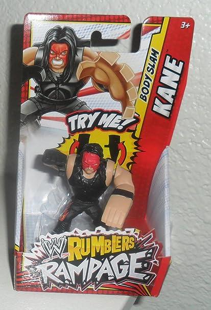 Amazon Com Kane Wwe Rumblers Rampage Mattel Toy Wrestling