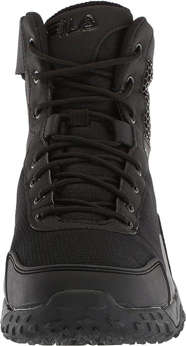 fila boots negras