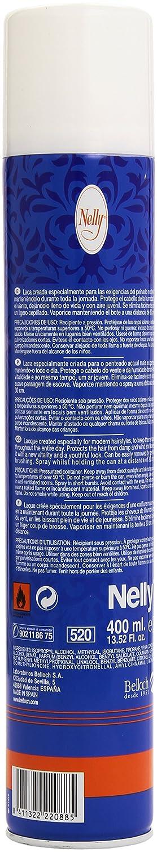 Nelly - Laca Hair Spray - Fijación fuerte - 400 ml
