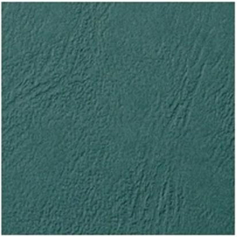 100 St/ück beige LeatherGrain Umschlagmaterial A4