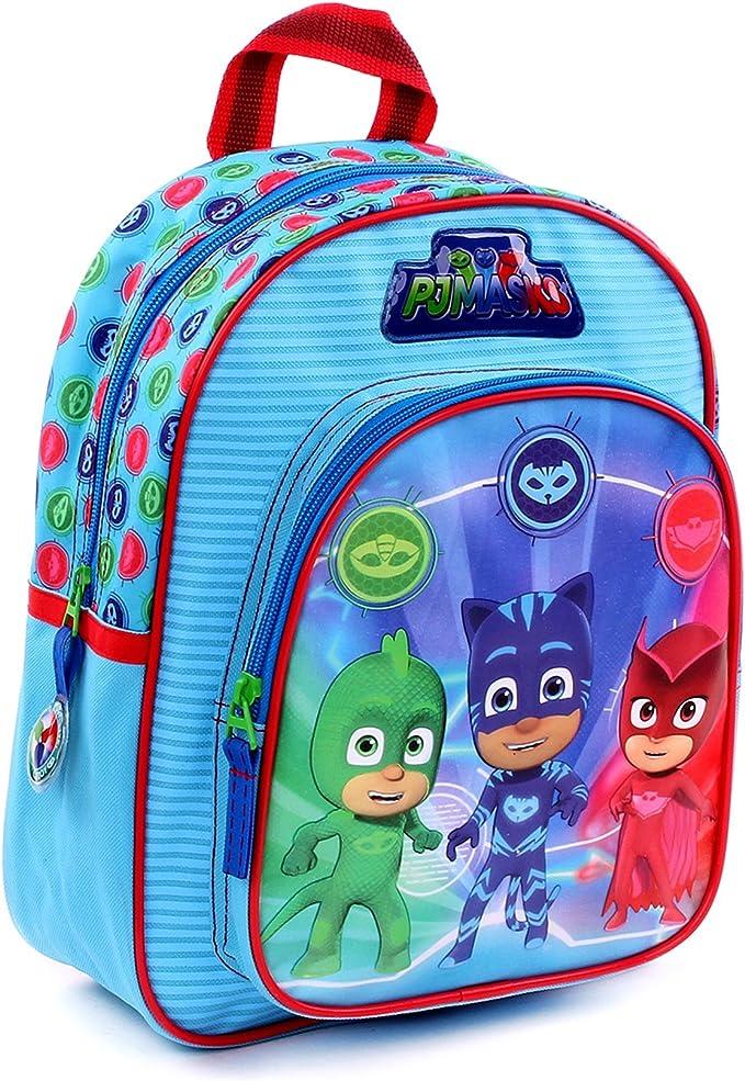 Mochila niño pyjamasques PJ Masks Sacha, Amaya y Greg: Amazon ...