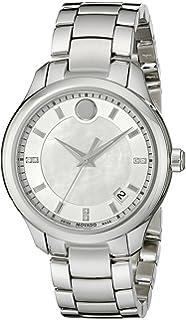Movado Womens 0606978 Analog Display Swiss Quartz Silver Watch