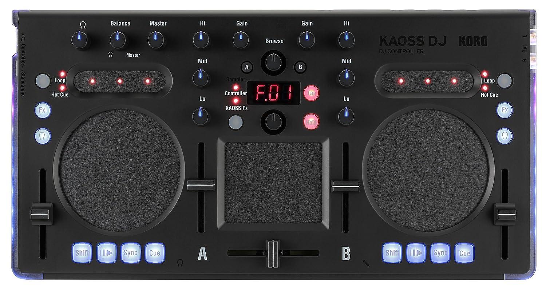 Korg KAOSSDJ USB DJ Controller with Kaoss FX Korg USA Inc.
