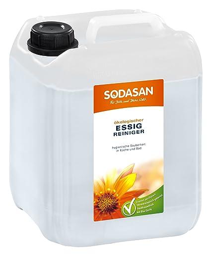 sodasan bio limpiador de vinagre de 5 l: Amazon.es: Belleza