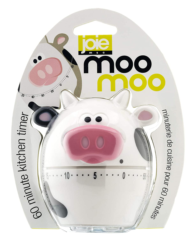 MSC International 43363 Joie MooMoo Kitchen Timer, 60-Minute Mechanical