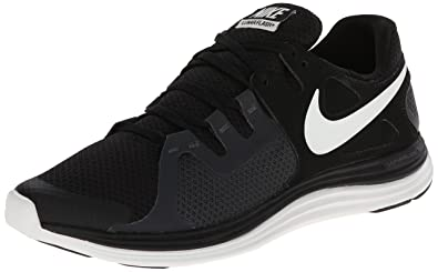 Nike Men's NIKE LUNARFLASH+ RUNNING SHOES 8 Men US (BLACK/SUMMIT  WHITE/ANTHRACITE