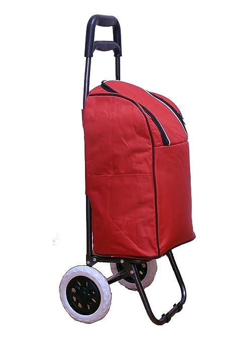 buyplus Picnic enfriador de carro con ruedas carrito