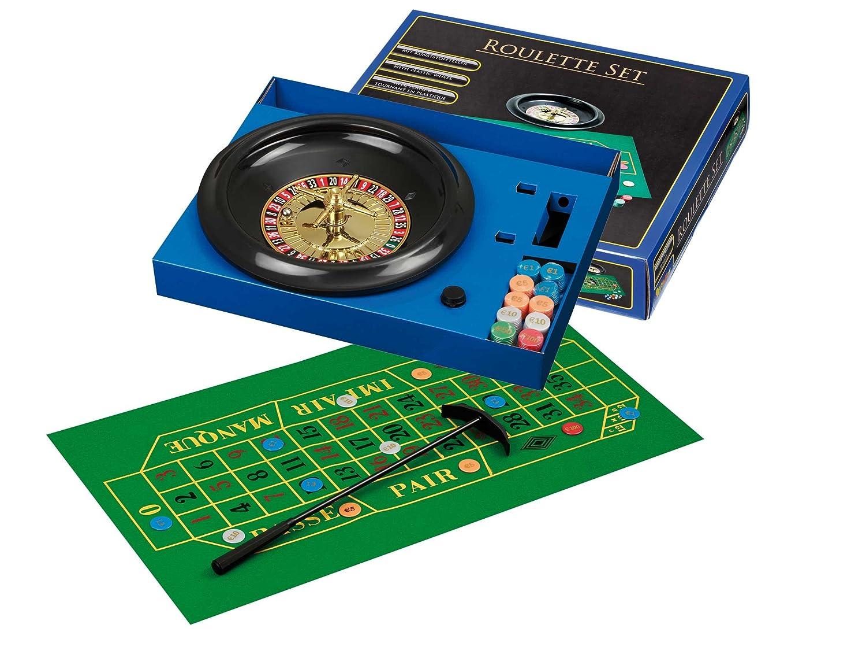 Philos 3701 - Roulette Set, mit Kunststoffteller Philos-Spiele Philos_3701 Roulettespiele