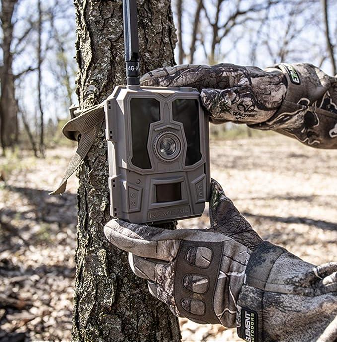 New Sealed Tactacam REVEAL 24MP Verizon Trail Camera And New Reveal Lock Box Kit