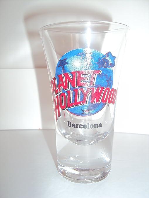 Planet Hollywood Barcelona, España De Altura De vasos de chupito: Amazon.es: Hogar