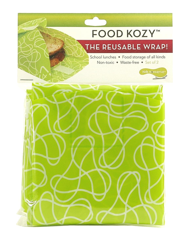 U Konserve Lime Food Kozy, 2-Pack Kids Konserve KK068