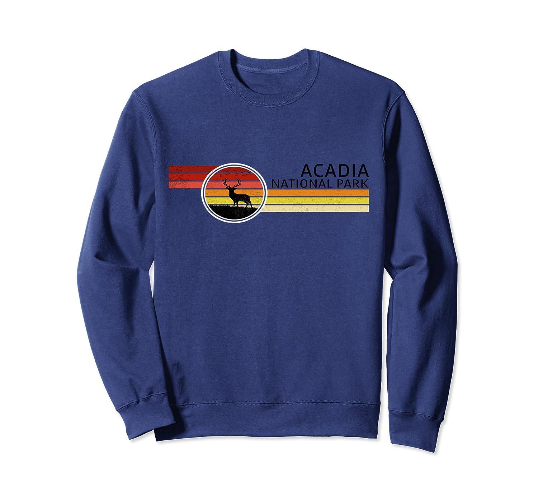 Acadia National Park Sweatshirt Warm Up Top Clothing Maine-TH