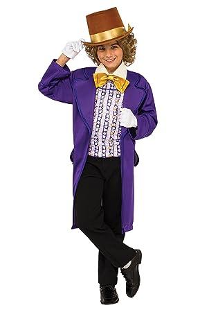 Boys Willy Wonka Costume - XS