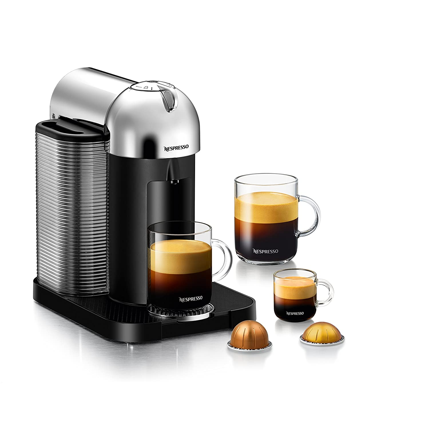 $149.99 (was $249.99)Nespresso VertuoLine by Breville, Chrome