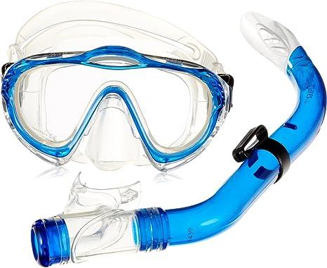 MARES Maschera con boccaglio per Snorkeling Wahoo da Adulti