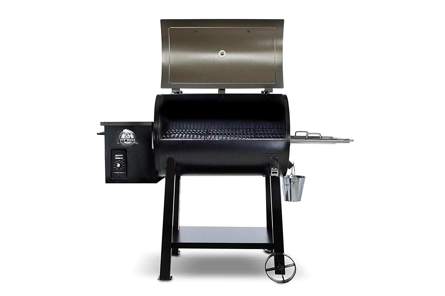 Pit Boss Grills 72440 Deluxe Wood Pellet Grill, 440 Square inches, White