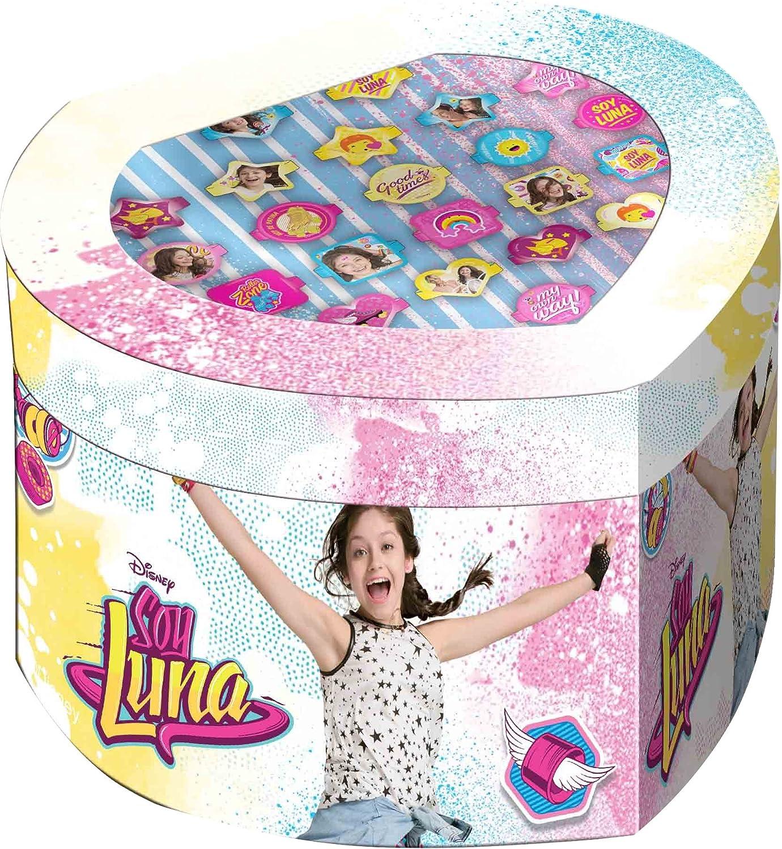Soy Luna Set joyero con 22 anillos, unica (Kids Euroswan WDSL119): Amazon.es: Juguetes y juegos
