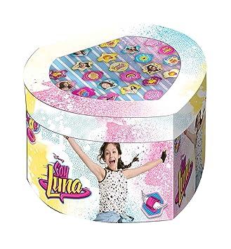 Soy Luna Set joyero con 22 anillos unica Kids Euroswan WDSL119: Amazon.es: Juguetes y juegos