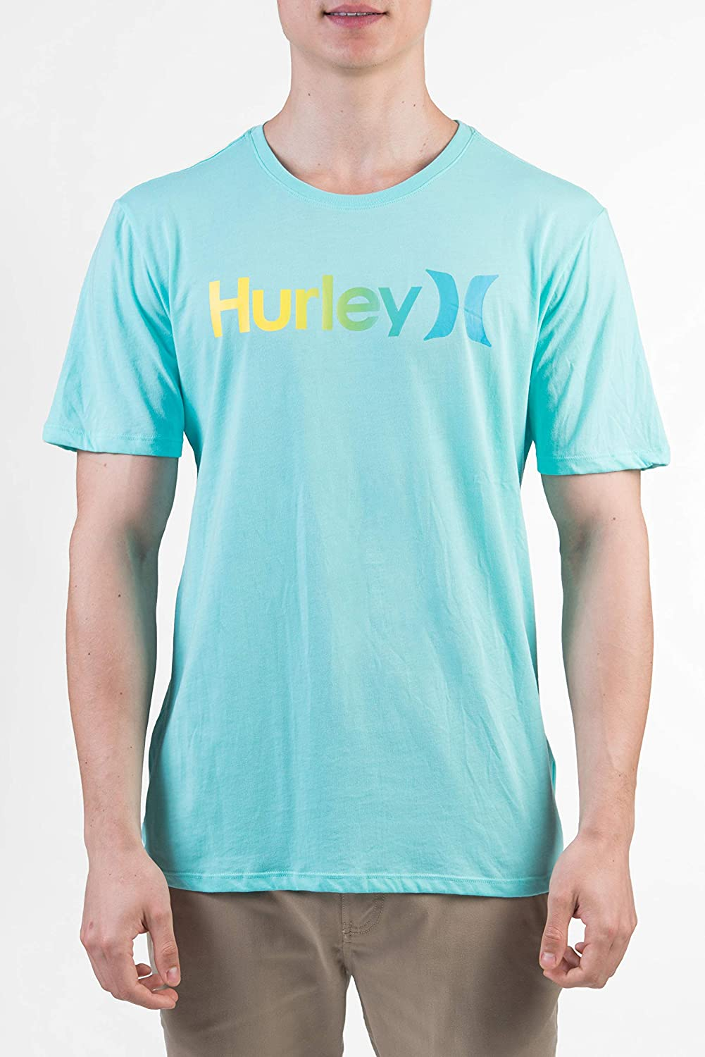 Hurley One /& Only Gradient 2.0 Short Sleeve T-Shirt in Black