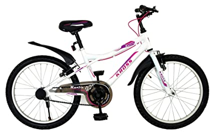 b13cc99f642 Buy Kross 20TSS Mystic Bicycle, Girl's (White) Online at Low Prices ...