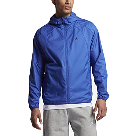 Jordan Sportswear Wings Windbreaker Men's Jackets Game Royal/Black