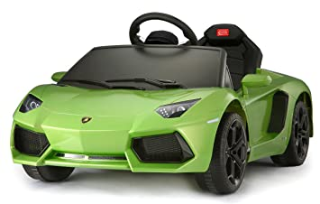 Buy Lamborghini Aventador Kids 6v Electric Ride On Toy Car W Parent