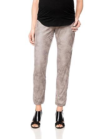 f3ccd06c0929db Amazon.com: Monrow Secret Fit Belly Sateen Skinny Leg Maternity ...