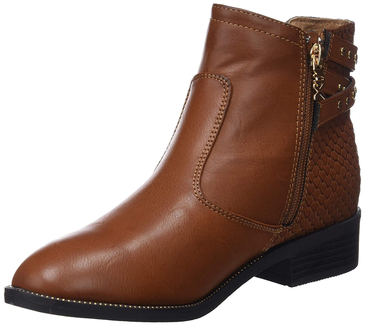Amazon.com Xti 48433 Womens Boots Tan Clothing