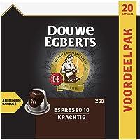 Douwe Egberts Koffiecups Espresso Krachtig Voordeelverpakking (200 Koffie Capsules, Geschikt voor Nespresso…