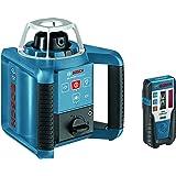 Bosch Professional Pack Laser Rotatif Extérieur GRL 300 HV avec Trepied et Mire 061599405U